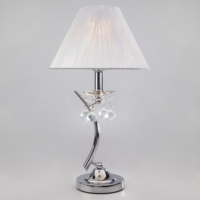 Настольная лампа Odette 40Вт E14 хром