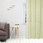 Тюль «Этель» 145×270 см, цвет светло-зеленый, вуаль, 100% п/э