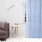 Тюль «Этель» 140×250 см, цвет небесно-голубой, вуаль, 100% п/э