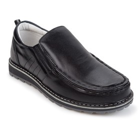 Туфли для мальчика, цвет чёрный, размер 32