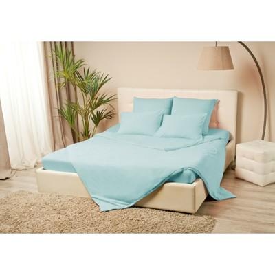 Комплект наволочек «Купу-купу», 50х70 см - 2 шт, голубой, трикотаж