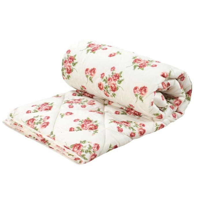 Одеяло стёганое «Экофайбер», 172х205 см, чехол полиэстер, наполнитель экофайбер, 150 г/м2 - фото 997190