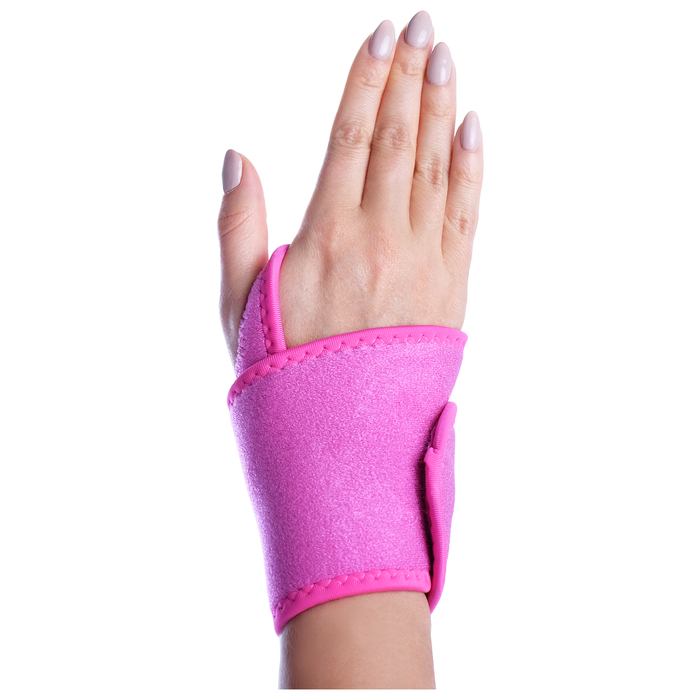 Суппорт запястья (1 шт), цвет розовый