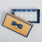 Коробка с ячейками для конфет «Живи в удовольствие», 22 × 11 × 3.5 см