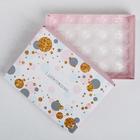 Коробка с ячейками для конфет «День рождения», 20 × 15 × 3.5 см