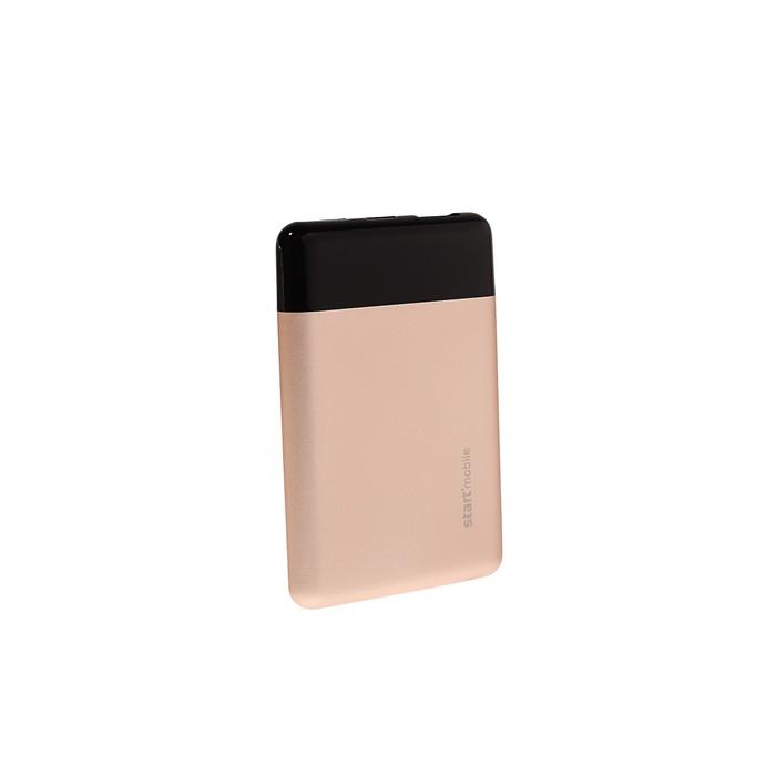 """Внешний аккумулятор """"СТАРТ"""" PPB EAGLE P05MC-G, USB, 5000 мАч, цвет чёрно-золотой"""