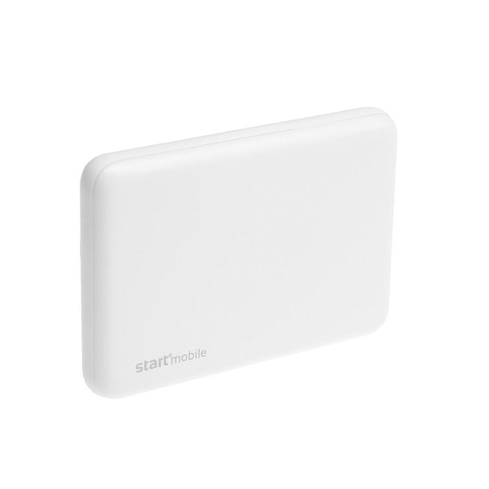 "Внешний аккумулятор ""СТАРТ"" PPB ROOK  P05PC-W, USB, 5000 мАч, белый"