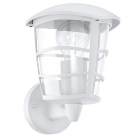 Светильник ALORIA, 60Вт, E27, IP44, цвет белый