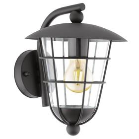 Светильник PULFERO, 60Вт, E27, IP44, цвет черный