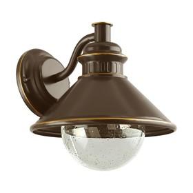 Светильник ALBACETE, 40Вт, E27, IP44, цвет коричневый, медь