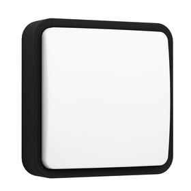 Светильник PIOVE-C, 14Вт, LED, IP44, 3000k, цвет черный