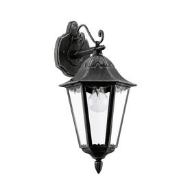 Светильник NAVEDO, 60Вт, E27, IP44, цвет черный, серебро