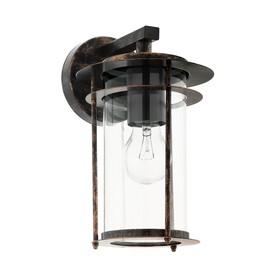 Светильник VALDEO, 60Вт, E27, IP44, цвет медь