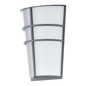 Светильник BREGANZO, 2x2,5Вт, LED, IP44, 3000k, цвет серебро