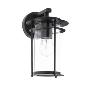 Светильник VALDEO, 60Вт, E27, IP44, цвет черный