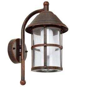 Светильник SAN TELMO, 60Вт, E27, IP23, цвет коричневый