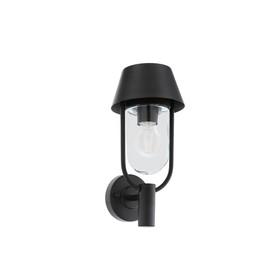 Светильник FACUNDA, 60Вт, E27, IP44, цвет черный