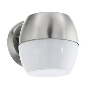 Светильник ONCALA, 11Вт, LED, IP44, 3000k, цвет нержавеющая сталь