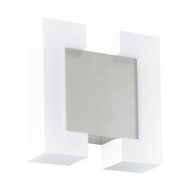 Светильник SITIA, 2x4,8Вт, LED, IP44, 3000k, цвет никель