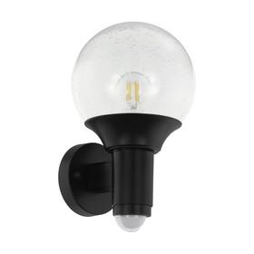 Светильник SOSSANO, 28Вт, E27, IP44, цвет черный