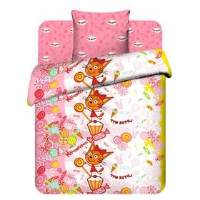 Детское постельное бельё 1,5 сп. «Десерт Карамельки»