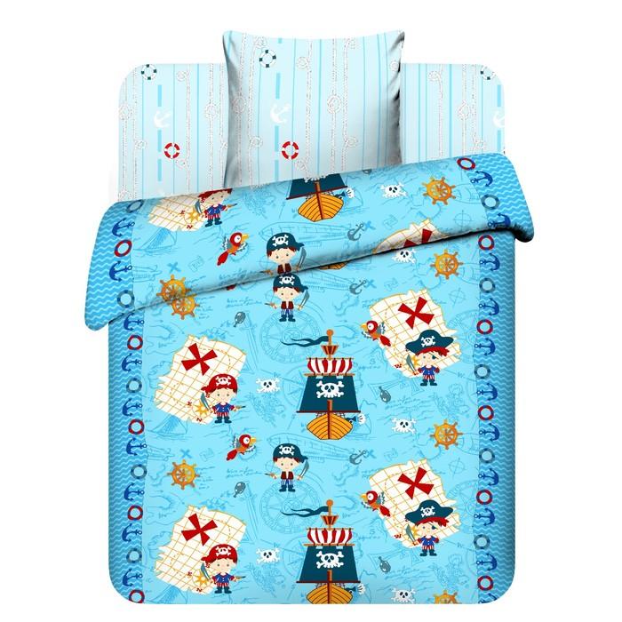 Детское постельное бельё 1,5 сп. «В поисках сокровищ»