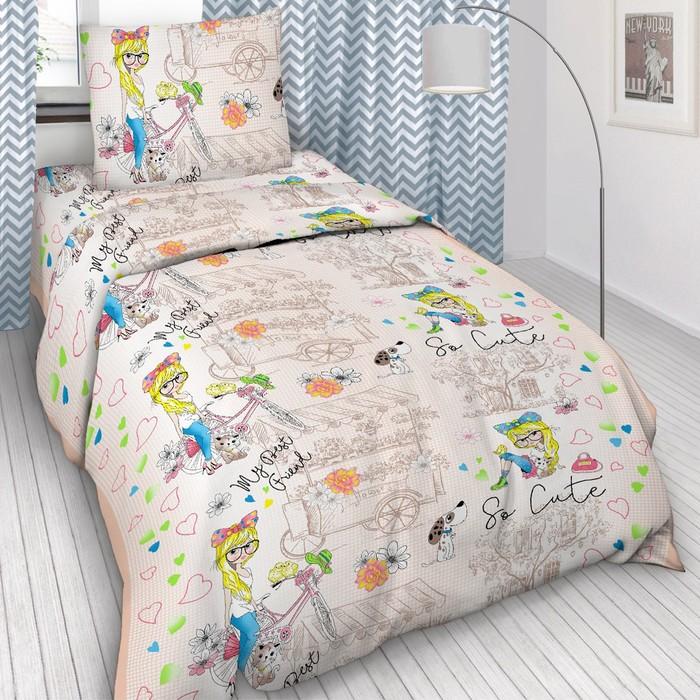 Детское постельное бельё 1,5 сп. - фото 875884