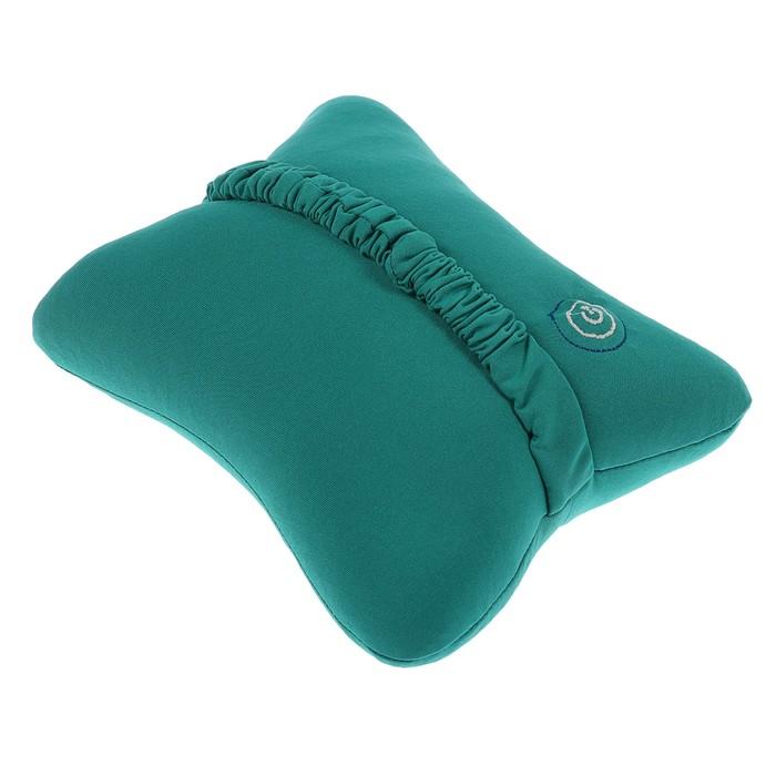 Массажёр-подушка LuazON LEM-07, 2*АА (не в комплекте), резинка для крепления, микс