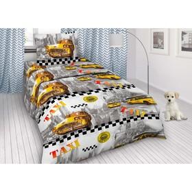 Детское постельное бельё 1,5 сп. «Такси»