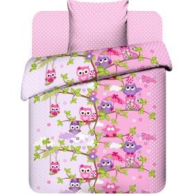 Детское постельное бельё 1,5 сп. «Совята»