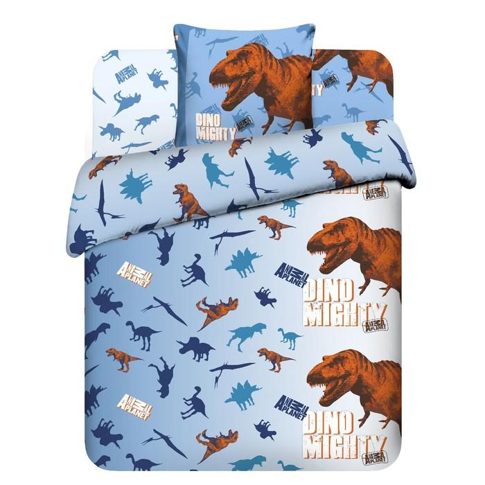Детское постельное бельё 1,5 сп. «Эра Динозавров»