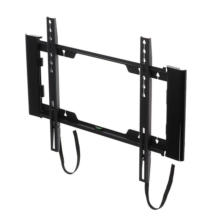 """Кронштейн HOLDER LCD-F4915-B, для ТВ, фиксированный, 26""""-55"""",  25 мм от стены, черный"""