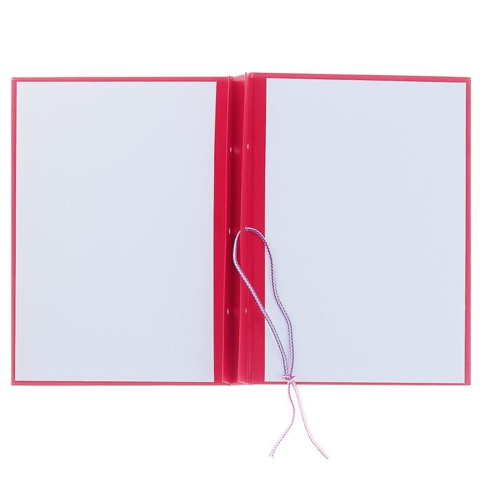 Папка для Курсовых работ (без бумаги), красная - фото 443618413