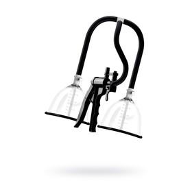 Помпа для груди SAIZ  Premium - Large, силикон, ABS пластик, чёрный, 44,5 см Ош