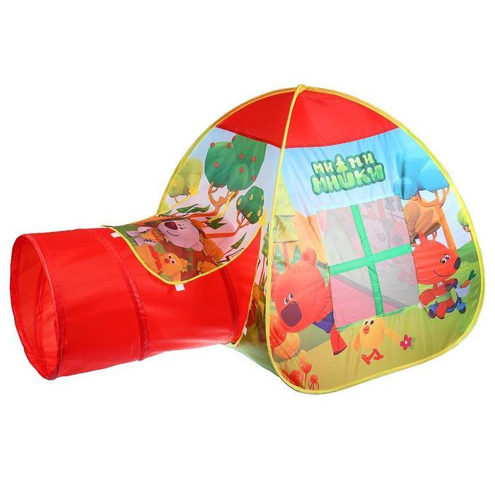 Палатка игровая «Ми-Ми-Мишки» с тоннелем, в сумке