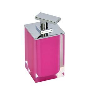 Дозатор для жидкого мыла Colours, розовый