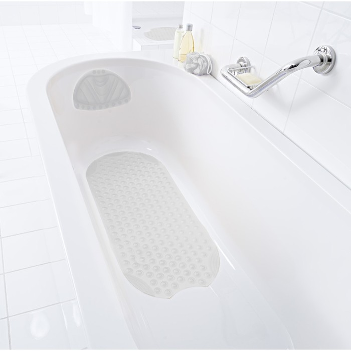 Подголовник для ванны Tecno Ice, цвет белый