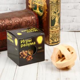 Головоломка деревянная Игры разума «Сферы»