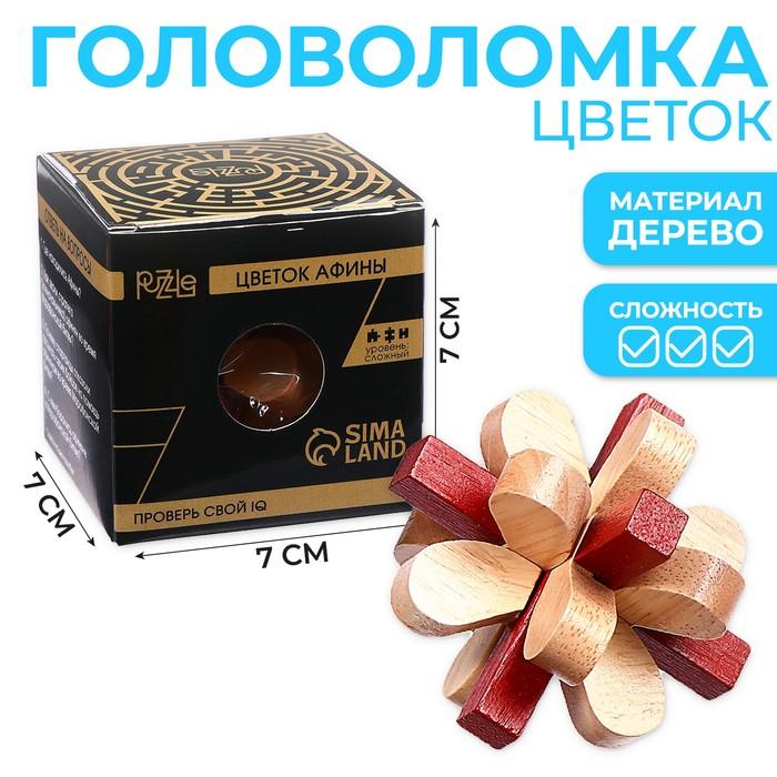 Головоломка деревянная Игры разума «Цветок Афины»