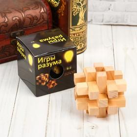 Головоломка деревянная Игры разума «Узел Альтекрузе»