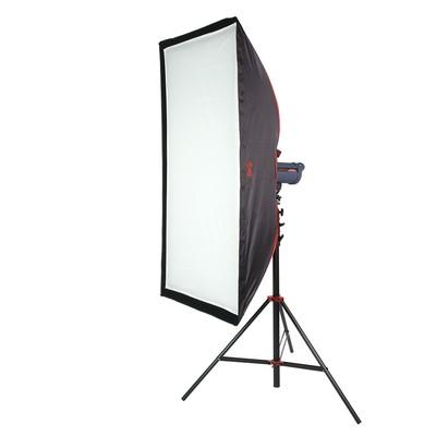 Софтбокс SBQ-75150 BW для галогенного освещения с сотами