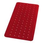 Коврик противоскользящий Playa, красный, 38x80 см