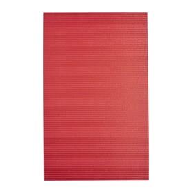 Коврик из вспененного ПВХ Standard красный, 50x80 см