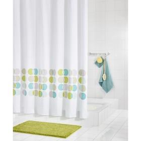 Штора для ванных комнат Eclipse, цветная, 180х200 см