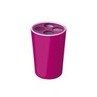 Стаканчик для зубной щетки Fashion, фиолетовый