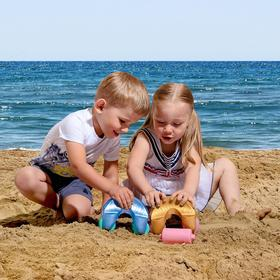 Каток для игры в песке «Следы»