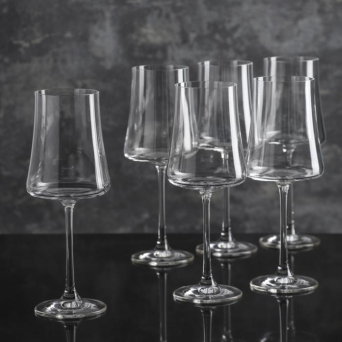 "Набор бокалов для вина 360 мл ""Экстра"", 6 шт"