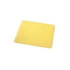 Коврик противоскользящий Basic, желтый, 51x51 см