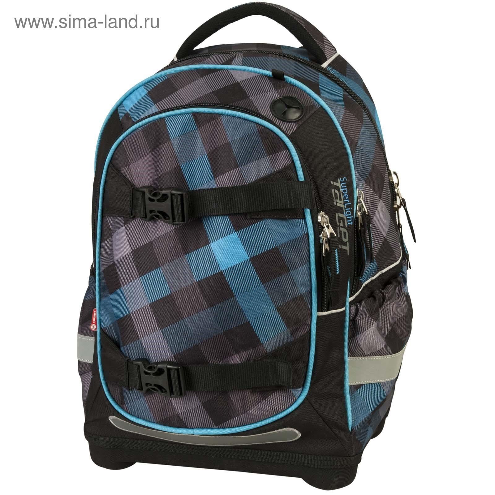 2f129844e369 Рюкзак молодежный эргоном.спинка Target 44*32*18 мал суперлегкий Blue
