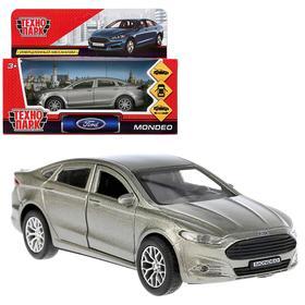 Машина металлическая инерционная Ford Mondeo, цвет серый, 12 см
